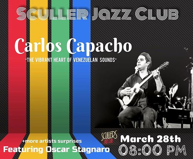 Happy to share with you all I will be in @scullersjazz this coming March 28th featuring @oscarstagnaro and other greats surprises!!! I hope to see you all Boston!!! #boston #bostonevents #concertsboston #harvard #cambridge #bostons #music #jazz #jazzmaster #jazzguitar #jazzmusic #bostondotcom #bostonusa #bostonma #bostoncommon #visitboston @nicocastl @bordoneando @vladeguignimusic