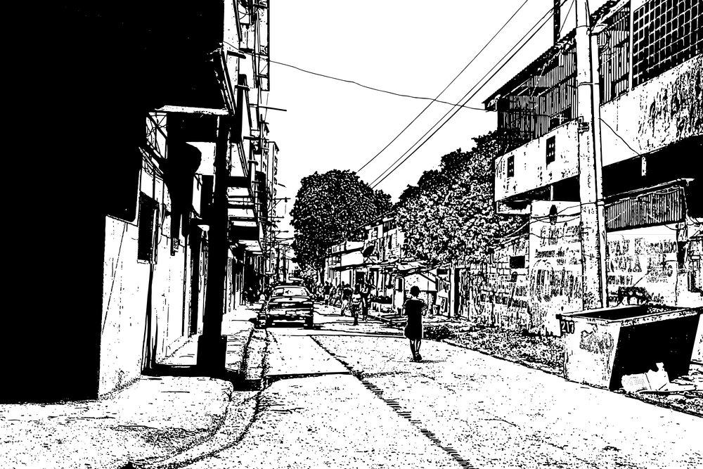 The Notorious El Chorrillo Neighborhood. Panama City, Panama.
