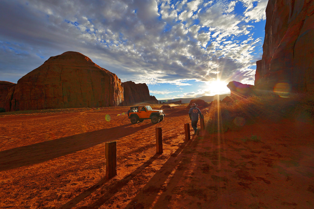 Navajo Photography Guide. Monument Valley Tribal Lands.