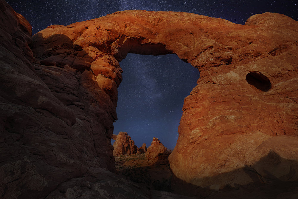 "Arches National Park. While Listening To ""The Blue"" By David Gilmour."