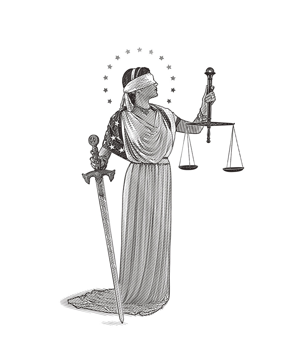 Lady Justice.