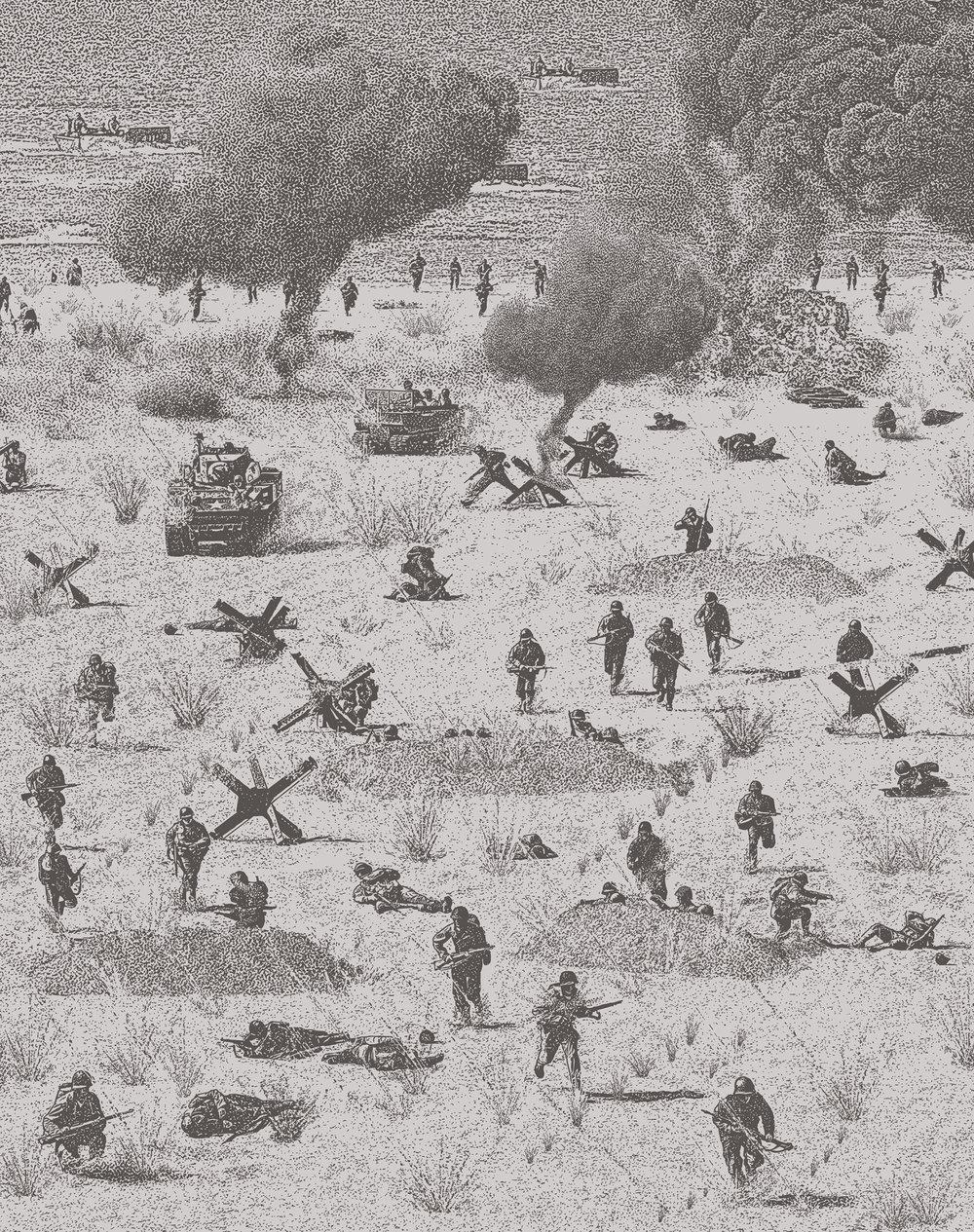 D-Day. Omaha Beach.