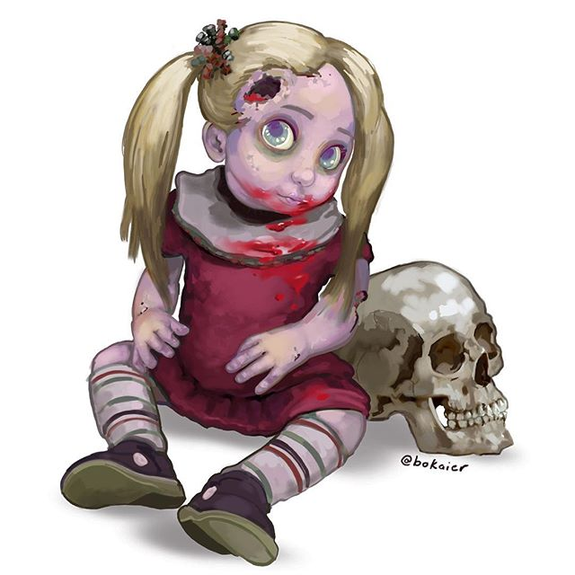 Zombie Kid #drawtober 22.  3 hours, iPad with stylus. #Bo365 sketchy art. | | #drawtober2017 #halloween #zombies #zombie #zombiekid #monster #monsters #darkart #drawing #illustration #artwork #artist #instadaily #igdaily #instaart #sketch #sketchaday #painting #digitalart #digitalpainting #instaartist #instadraw #artstagram #artistsoninstagram