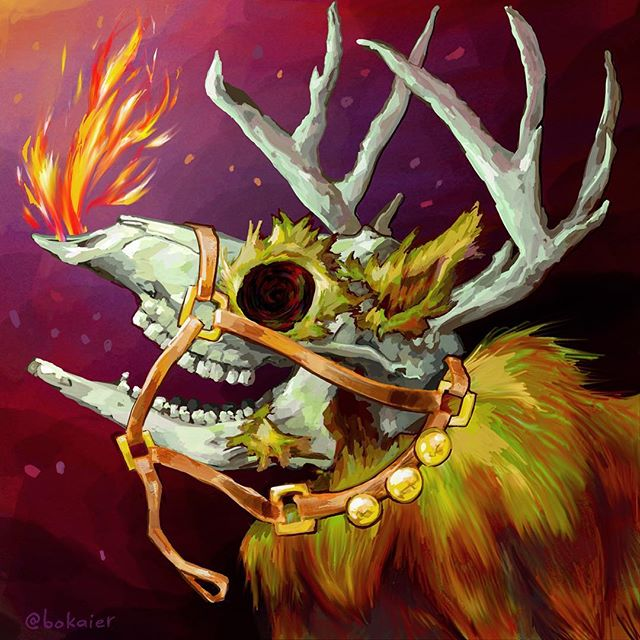 Rudolph with your nose so bright, you gave us all a terrible fright!  Tales of the glories and scary ghost stories. #Bo365 sketchy art.  #rudolph #rudolphtherednosedreindeer #merrychristmas #christmas #happyholidays #horrorart #darkart #digitalart #digital #art #drawing #illustration #art #artwork #artist #instadaily #igdaily #instaart #painting #digitalart #digitalpainting #instaartist #instadraw #artstagram #artistsoninstagram