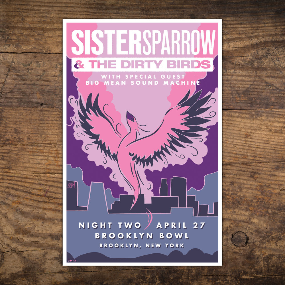 Sister Sparrow & The Dirty Birds