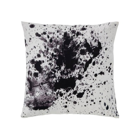 New York Splatter Throw Pillow