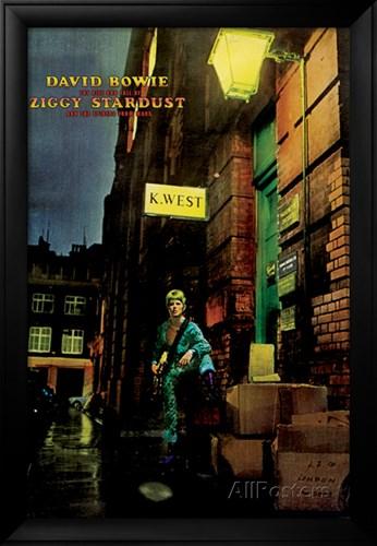 David Bowie Ziggy Stardust Poster $174