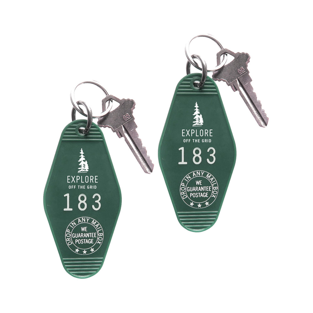 Explore Off The Grid Key Ring $8