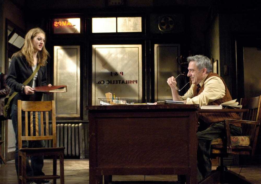 Marin Ireland, and Robert Dorfman in Huntington Theatre Company's Mauritius at the Calderwood Pavilion, BCA. Part of the 2006-2007 season. Photo: Eric Antoniou - http://bit.ly/1G1RLu5