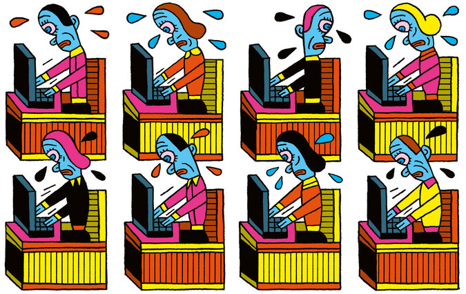 Art by Henning Wagenbreth for NYT