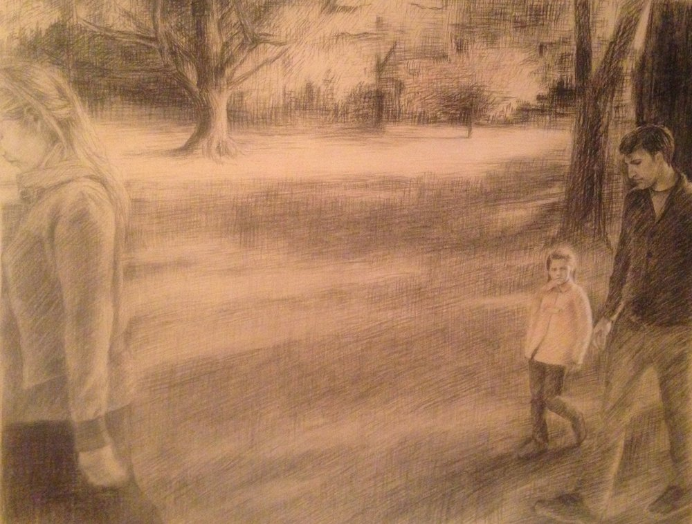 Charcoal on paper 2014