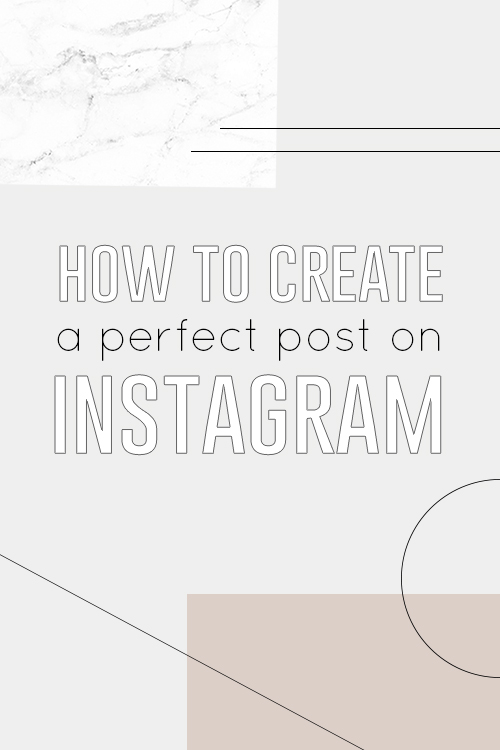 What makes a perfect post on Instagram?  Surprisingly it isn't much.   How to Create the Perfect Instagram Post   The Anatomy of Engaging Visual Content. www.smalltalksocial.com