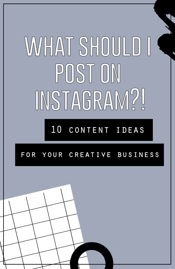 What should your business post on Instagram? | 10 Ideas for Creating Original Content for you Business or Brand | www.smalltalksocial.com