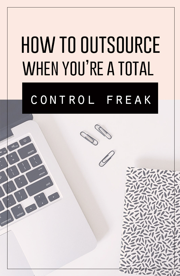 How to hire a Virtual Assistant and outsource parts of your creative business when you're a control freak...