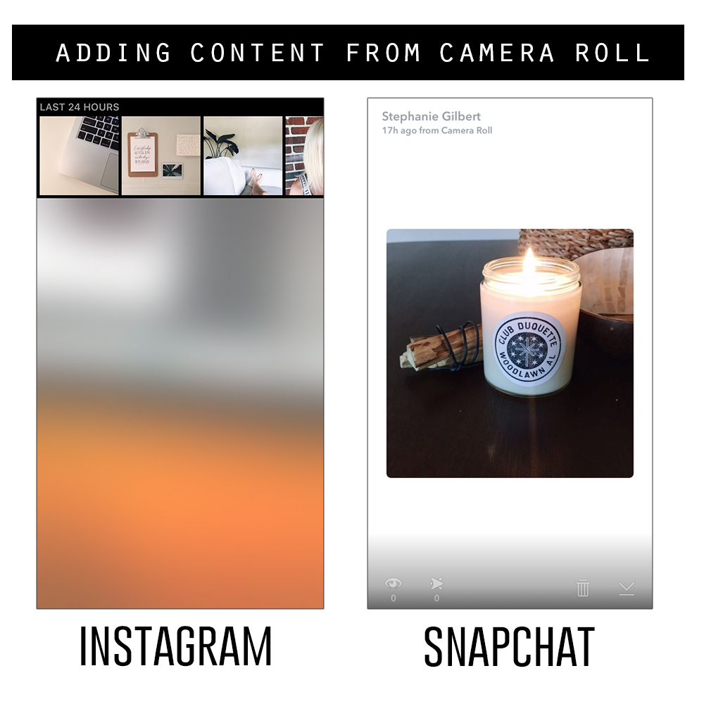 Instagram stories versus SnapChat : which is better for your business?!