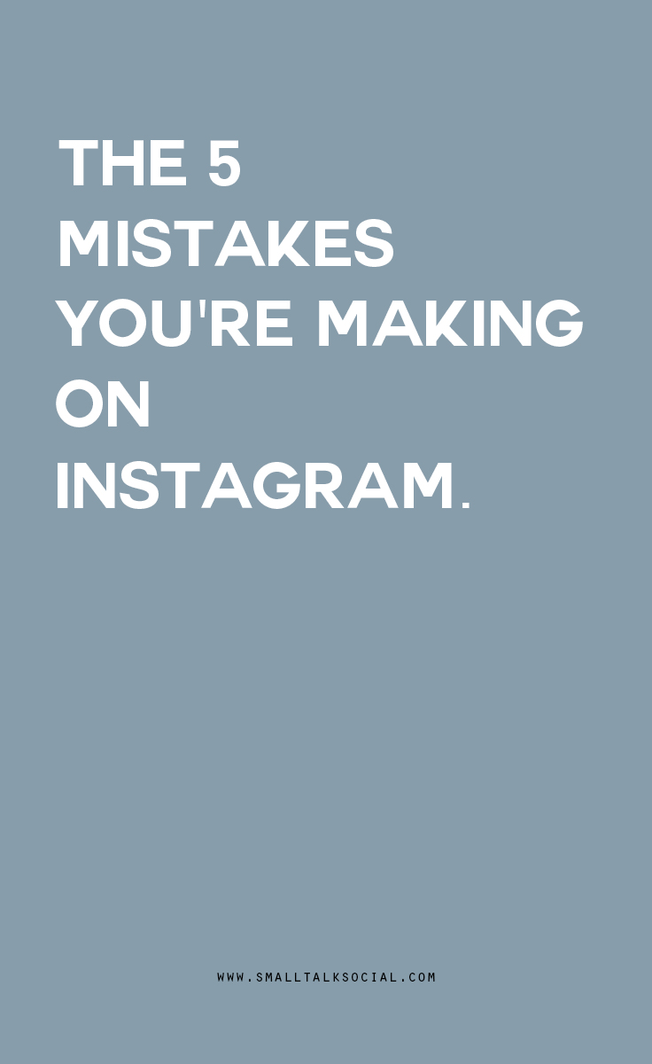"Are you making any of these common mistakes on your businesses Instagram account? Click here to find out, and while you're at it, get a free ""How to Hashtag"" guide to help you tag the right way to get your business noticed. 