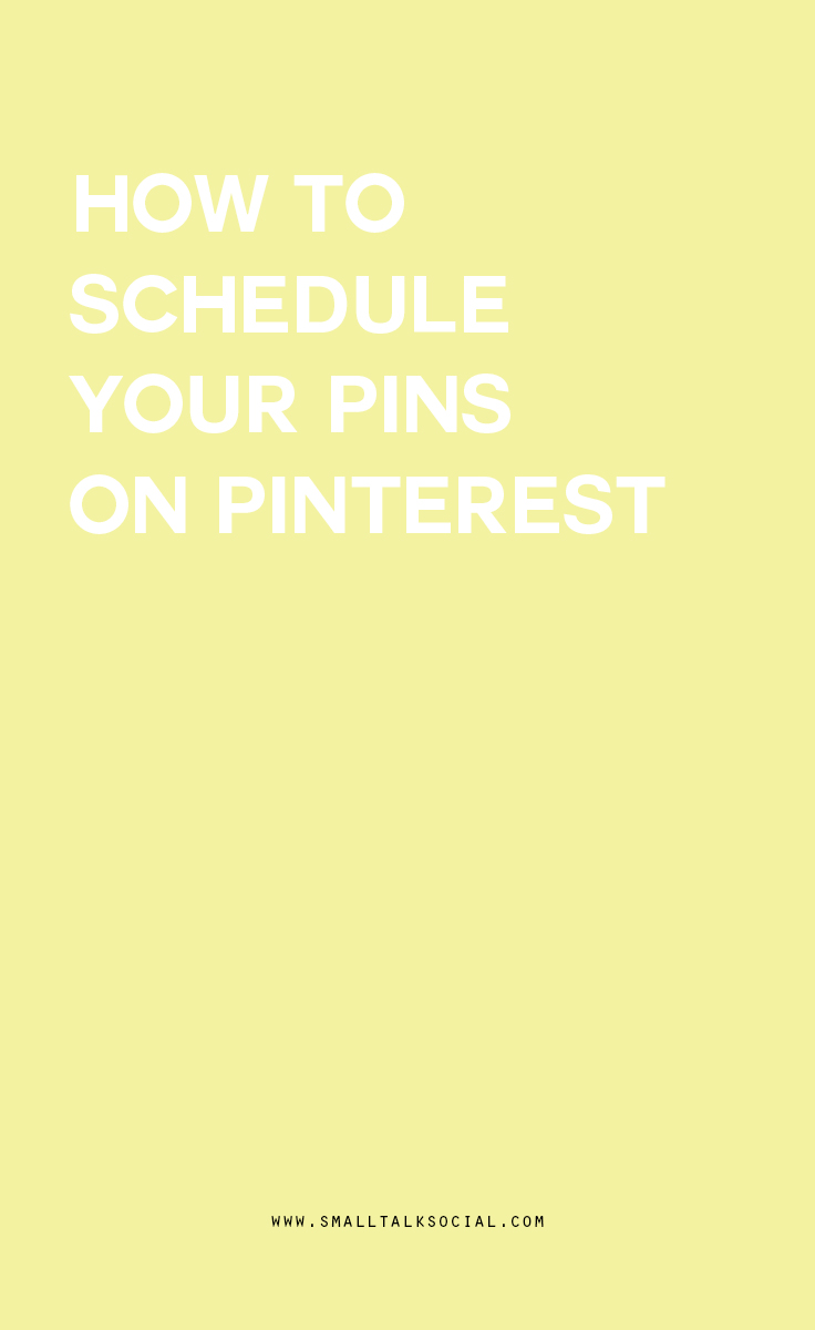 Why you should use a scheduling program for Pinterest.  This will free up a lot of time, so that you can focus on other things, like RUNNING YOUR BUSINESS!!