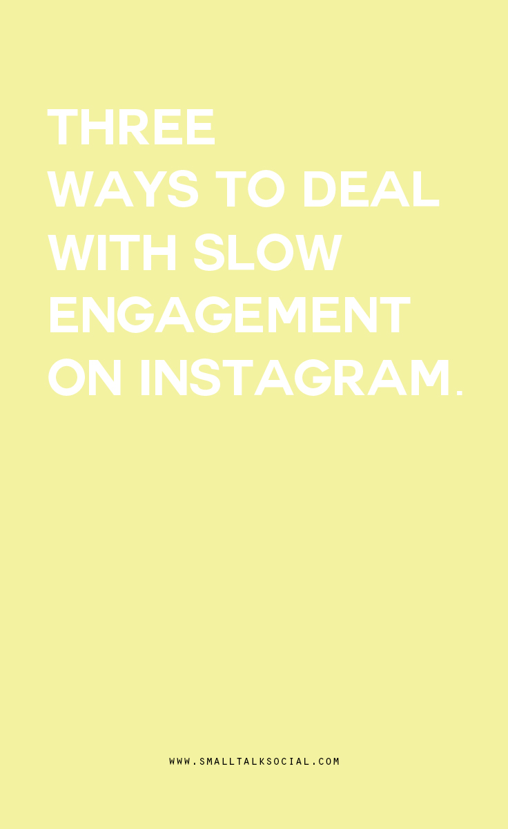 Is your feed feeling stagnant? Here are three ways to deal with slow engagement on Instagram