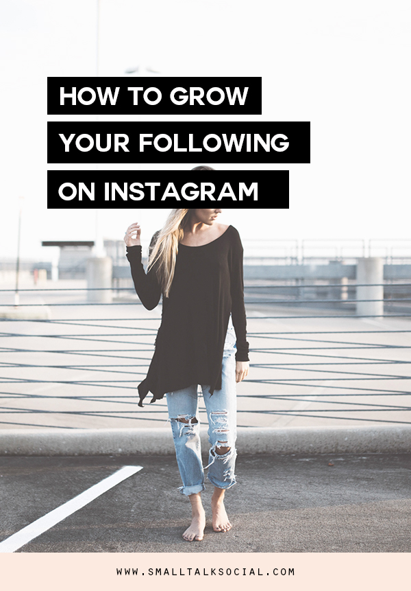 Want to attract more followers on your Instagram account?  Check out these 10 ways to grow your following PLUS a free worksheet to keep you on track. | www.smalltalksocial.com