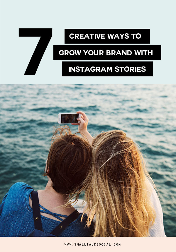 Learn 7 ways you can use Instagram Stories to build your know like trust factor and grow your business.