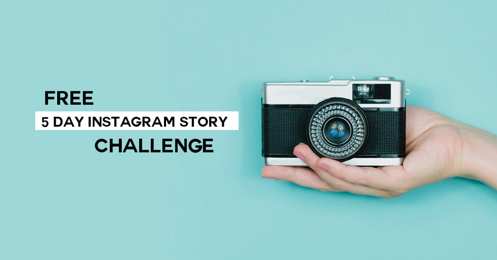 Take your Instagram Stories to the next level with this totally FREE 5 Day Challenge from Small Talk Social
