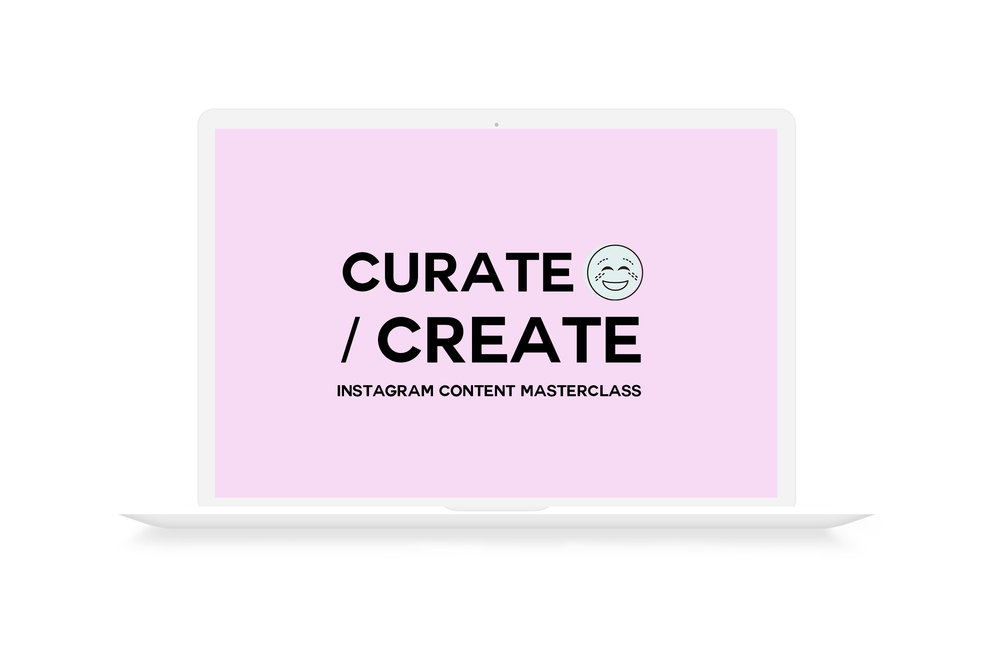 Learn to style, shoot and edit professional photos for your Instagram on your phone with Curate/ Create : Instagram Content Masterclass