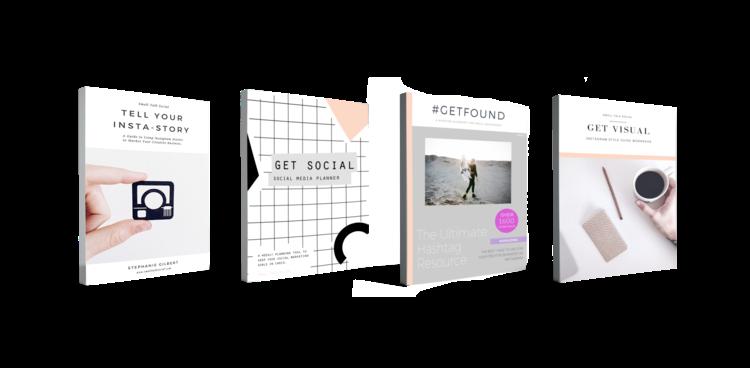 Instagram for Business Digital Bundle of Resources