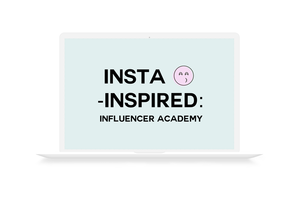 Insta-Inspired Influencer Academy course for small businesses wanting to work with influencers and partners from Small Talk Social