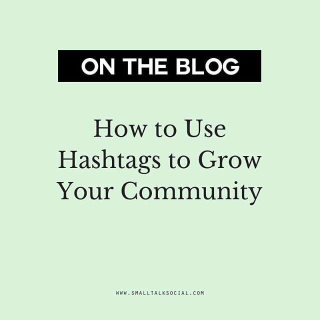 Instagram is constantly changing and so are the algorithms. *Insert eyeroll here* 🙄⠀ ⠀ Although there are no hard set rules for how to grow your following or go viral, there are several ways to use hashtags to your advantage so that you reach a specific target audience. ⠀ ⠀ Click through the link in our bio to learn how you can use hashtags to grow your online community! ⠀ -⠀ -⠀ -⠀ -⠀ -⠀ #iamtheeverygirl #sayyestosuccess #womensupportingwomen #babeswhohustle #thegramgang #creativeatheart #bossladies #myunicornlife #tnchustler #createculitvate #makersgonnamake #handsandhustle #makersmovement #livecreatively #creativebusiness #creativeminds #theeverygirl #glitterguide #theinstagramlab #prettylittlething #theblogissue #photosinbetween #livecolorfully #flashesofdelight #thegramgang #supportsmallbusiness  #createdtocreate #savvybusinessowner #womensupportingwomen #womeninbiz