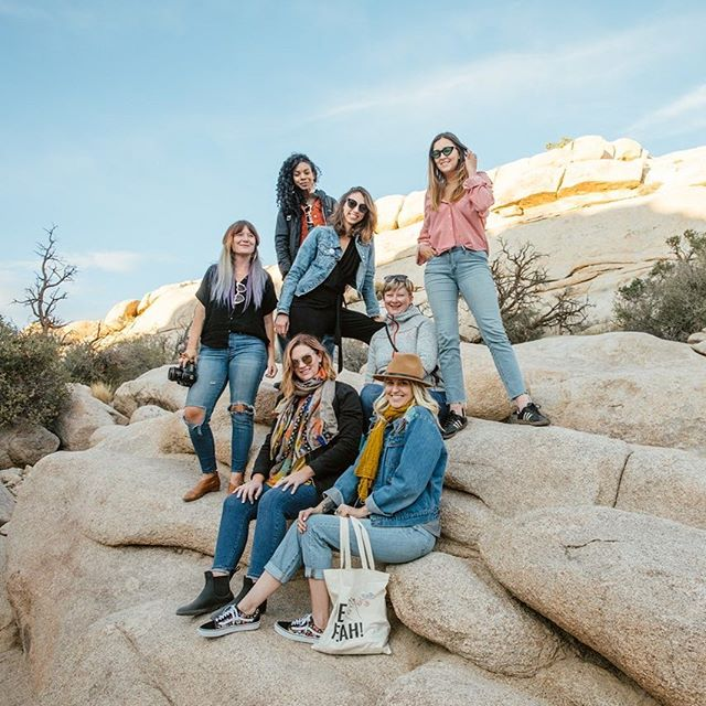 Did you miss the video recap of our recent @ceoyeah retreat in Joshua Tree?! ⠀ ⠀ 13 lady bosses shared an incredible week in the magical desert -- learning how to take their businesses + their mindset to the next level. ⠀ ⠀ Click through the link in our bio to check out all of the trip highlights, and if you're feeling ready to take the leap-- join us for our next adventure this January  in Oahu! (p.s. there are only 2 spots left!)⠀ ⠀ #ceoyeah #girlsjustwannabeceo ⠀ ⠀ -⠀ -⠀ -⠀ -⠀ #communityovercompetition #risingtidesociety #chasinglight #flashesofdelight #calledtobecreative #beingboss #creativeentrepreneur #creativityfound #designinthedetails #nothingisordinary #dowhatyoulove #exploretocreate #liveauthentic #thehappynow #southernmakers #mycreativebiz #thegramgang #abmlifeiscolorful