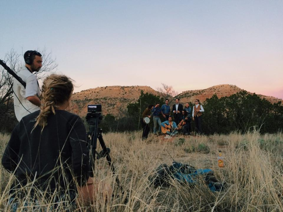 I spent spring break in Palo Duro Canyon, Texas, shooting Metzger, a romp with a heart created by Partners in Cinema.