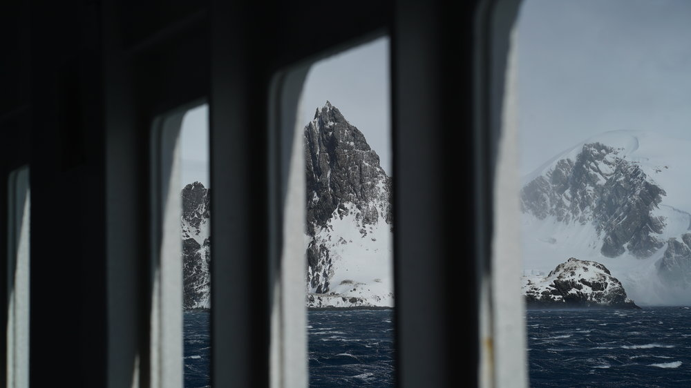 approaching Elephant Island I think