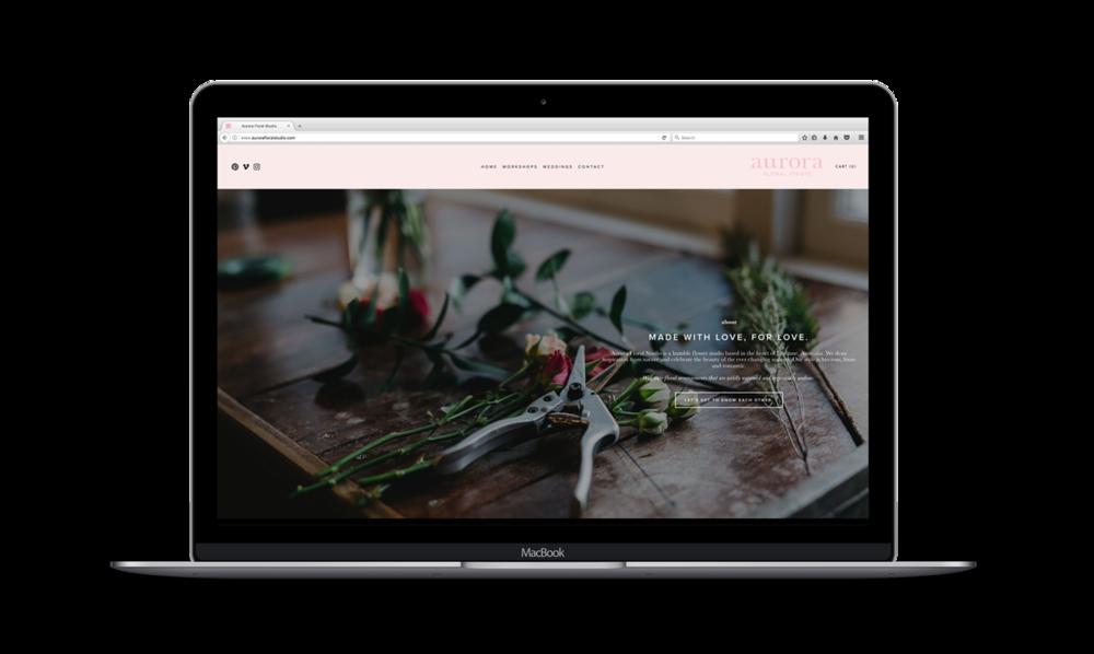 FEATURED WORK - June 2017: Aurora Floral Studio