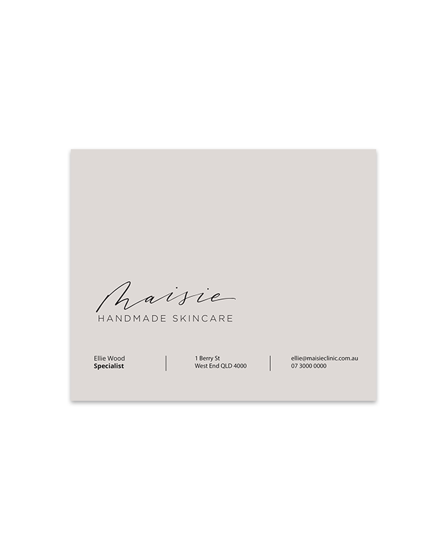 Maisie Clinic Envelope Front