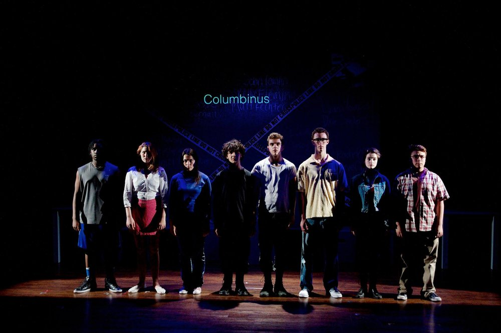 Columbinus - by Stephen Karam and PJ Paparelli Inspired by the 1999 Columbine school shooting.
