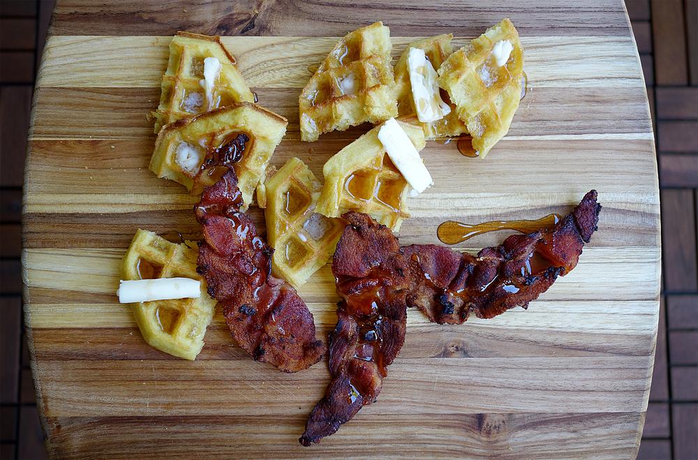 Crispy, crunchy, bacon