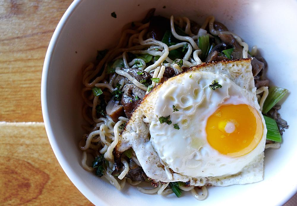 Mushroom Medley truffle noodle