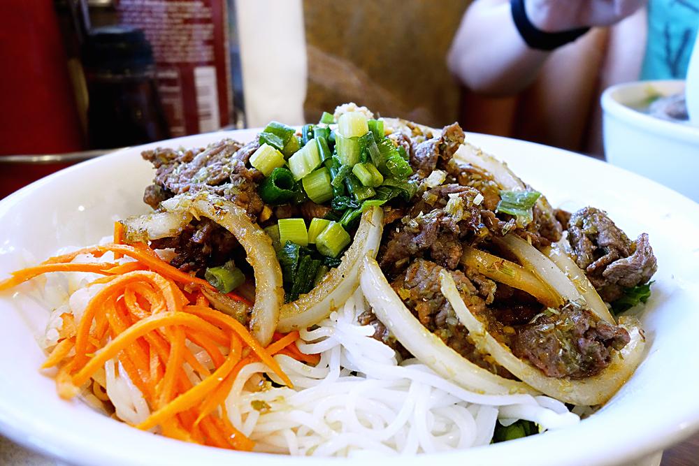 Lemongrass Beef soupless noodle