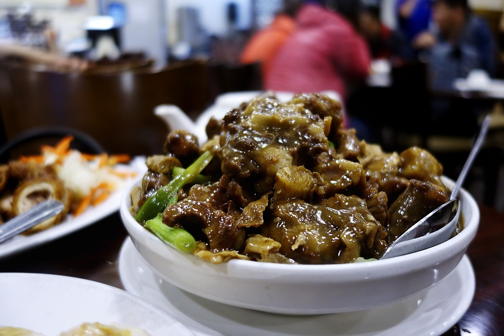 Braised Oxtail with dried bean curd