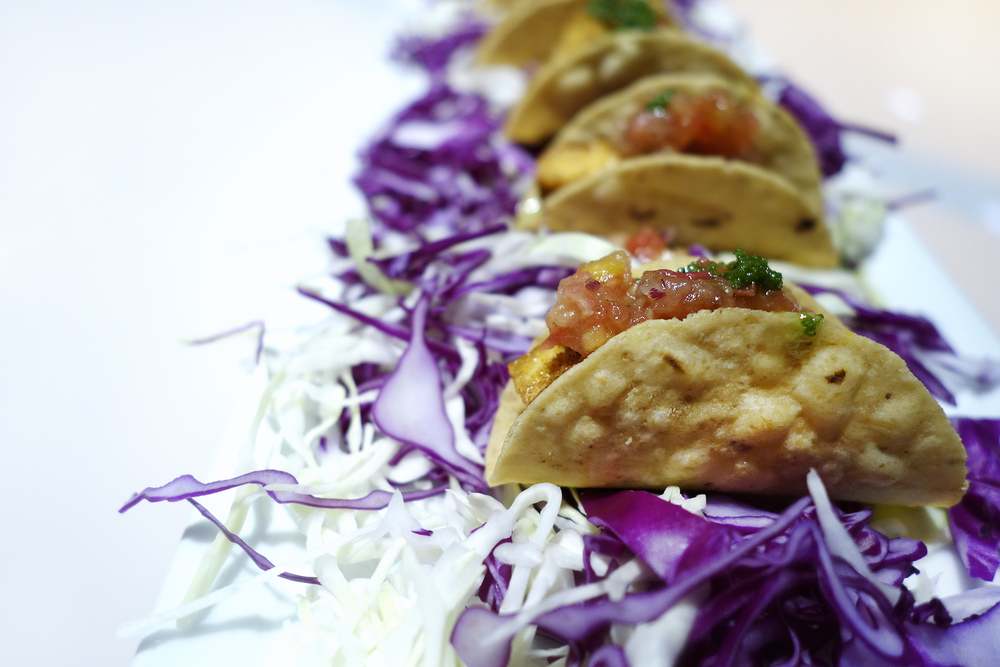 Mini Tofu Tacos