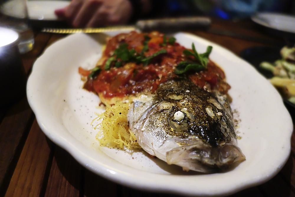 WHOLE ROASTED FISH