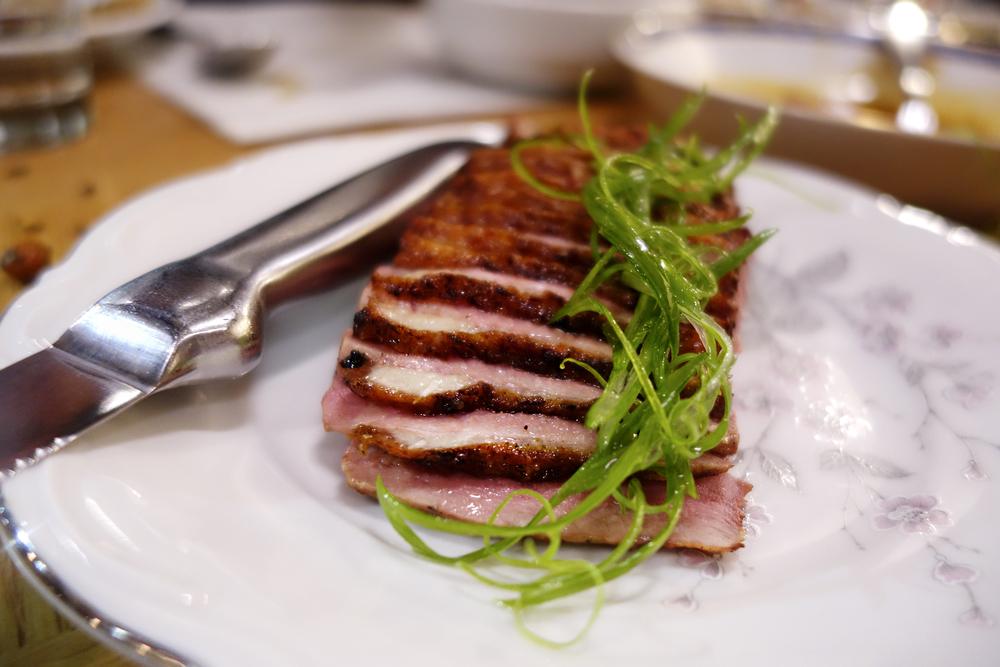 Marinated Muscovy duck breast