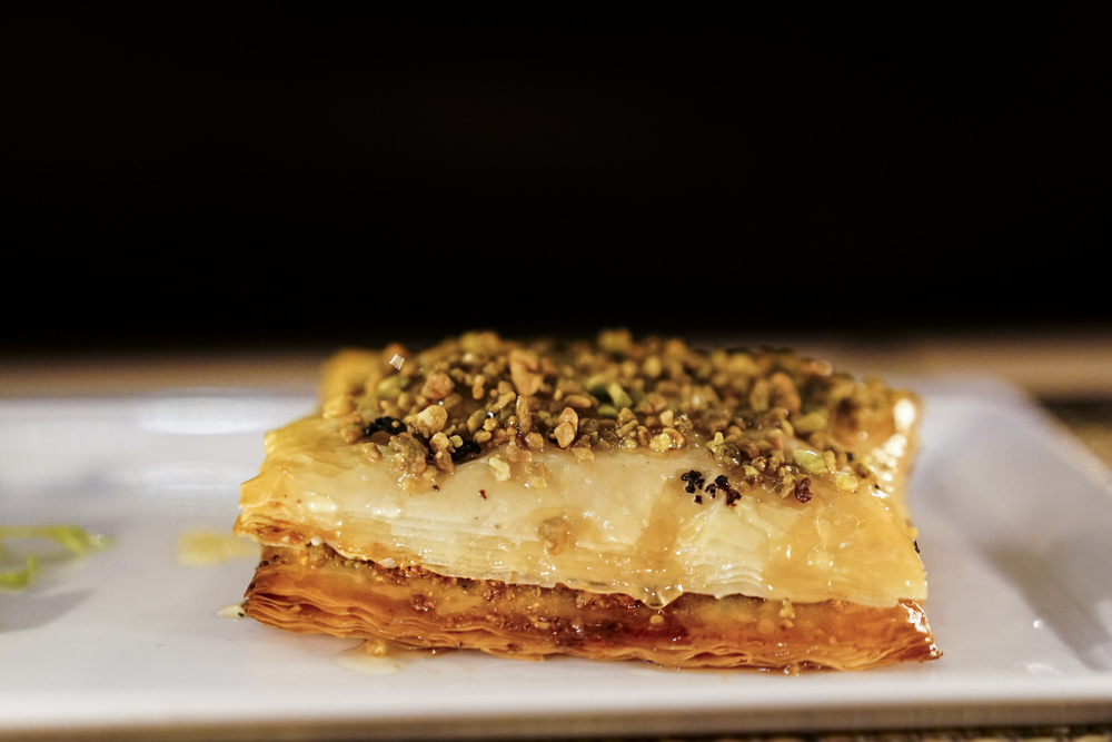 Goat Cheese Baklava