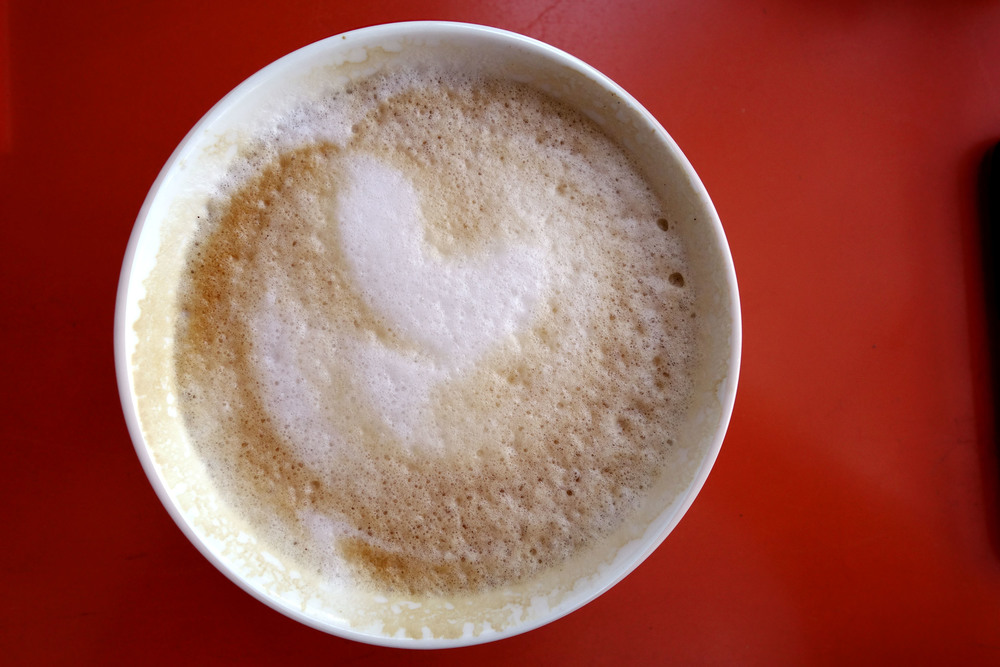 Cappuccino - Enjoy this with your lunch or a Pâtisserie
