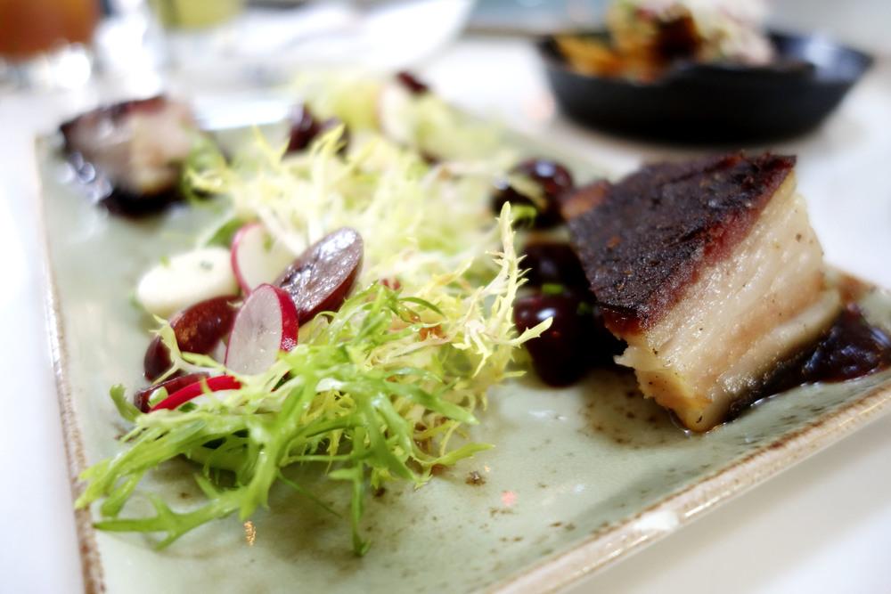 Pastrami Cured Pork Belly