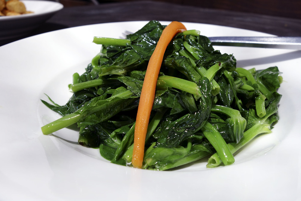 Stir fried pea sprouts - one of my favorite chinese vegetables.