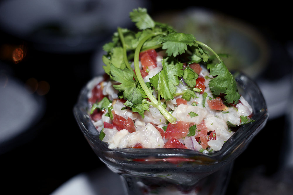 Traditional Bass Ceviche