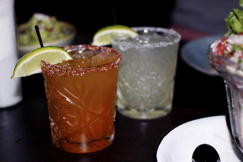 Break for cocktails