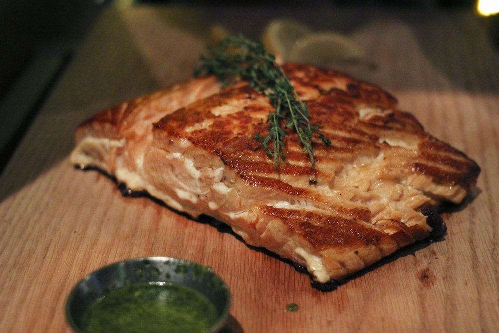 Hickory Smoked Salmon