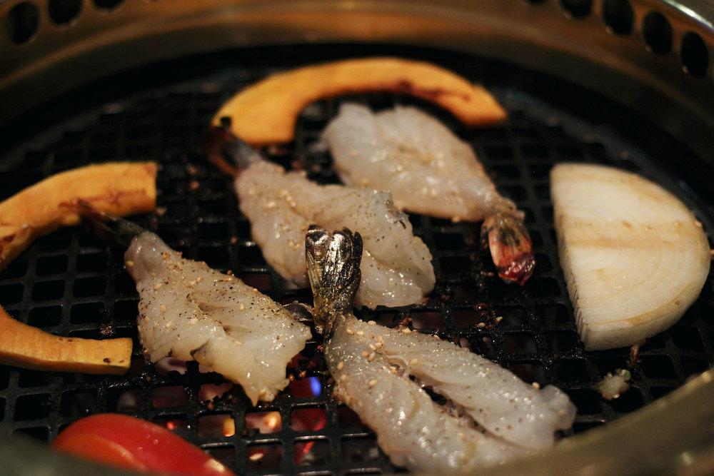 Black Tiger Shrimp - Delicious.